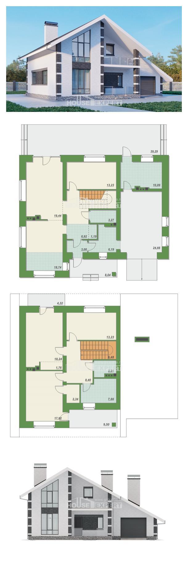 Проект дома 190-008-П   House Expert
