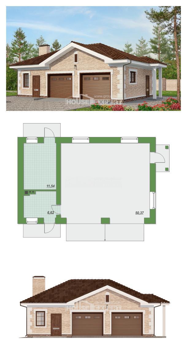 Проект дома 070-005-П | House Expert